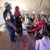 Women from Um Dersay IDP Camp (Shangil Tubaya, North Darfur) participate in a gender awareness training
