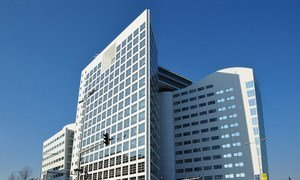 Headquarters of the International Criminal Court in The Hague.