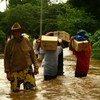 Afectados por inundaciones en El Salvador  Foto archivo: PMA/Tania Moreno