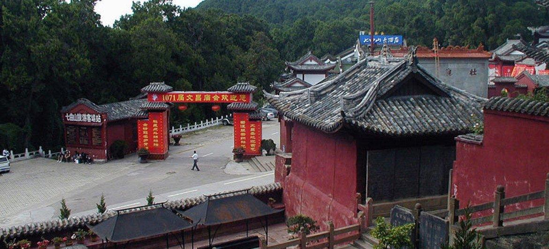 Qiqushan-Temple, Sichuan, China.