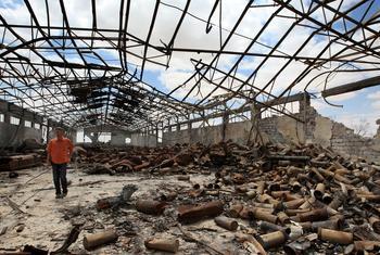Explosive remnants of war in Libya