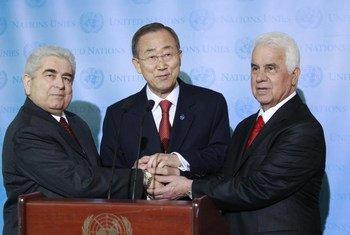 Christofias, Ban y Eroglu