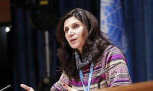 Faiza Patel, Chairperson of the Working Group on Mercenaries.