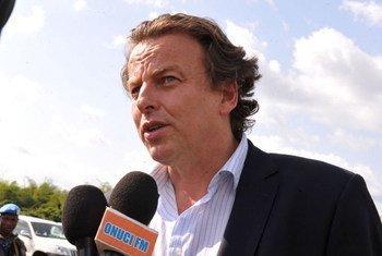 Le Représentant spécial de l'ONU en Côte d'Ivoire, Bert Koenders.