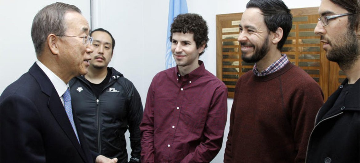 Ban Welcomes Rock Band Linkin Park S Support For Sustainable