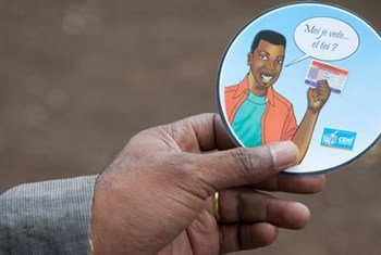 Un kit électoral en République démocratique du Congo (RDC).