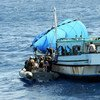 Counter-piracy operations being conducted in the Gulf of Aden and the east coast of Somalia.