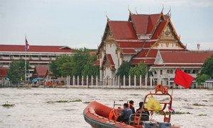 Flooding in Bangkok, Thailand