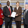 South Sudan's representatives with UN officials at signing of global convention banning the use, stockpiling, production and sale of anti-personnel mines
