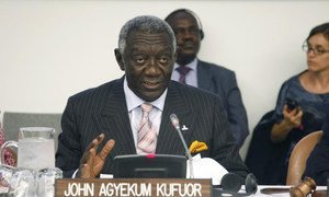 Former President of Ghana John Agyekum Kufuor