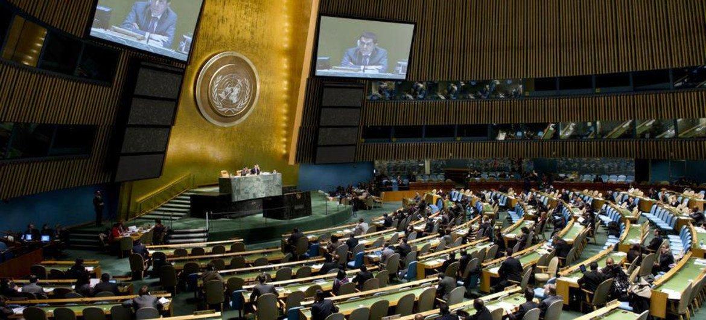 L'Assemblée générale des Nations Unies
