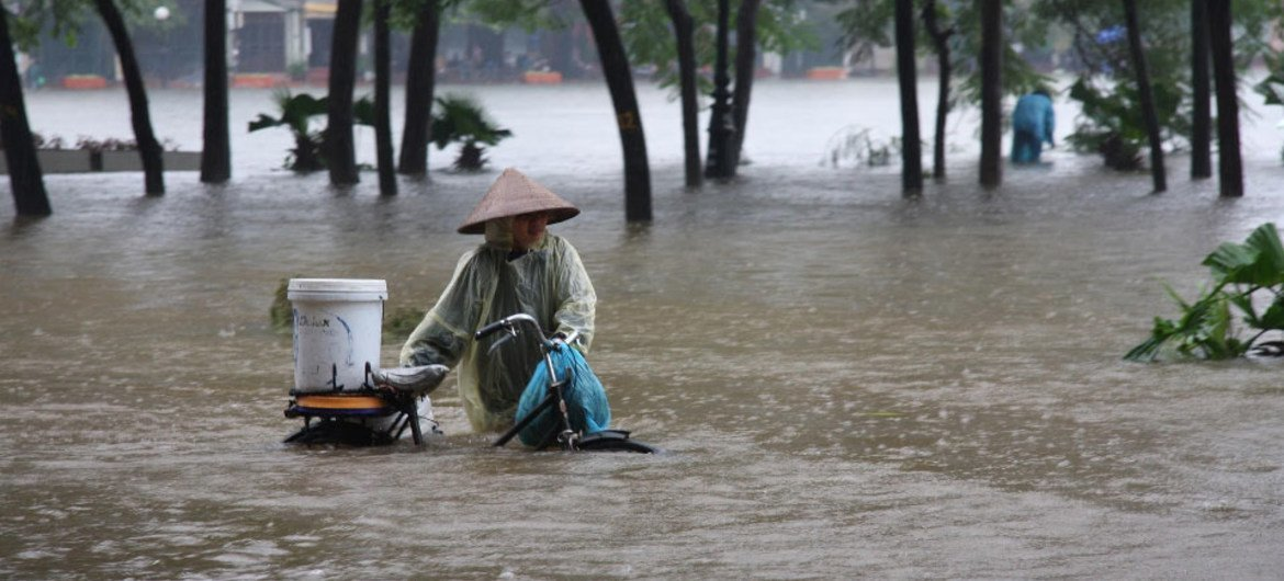 Climate-related disasters like flooding are on the rise.