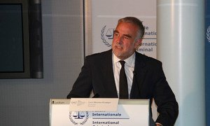 International Criminal Court Prosecutor Luis Moreno-Ocampo
