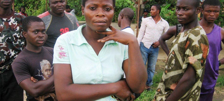 Des habitants de la péninsule de Bakassi au Cameroun.