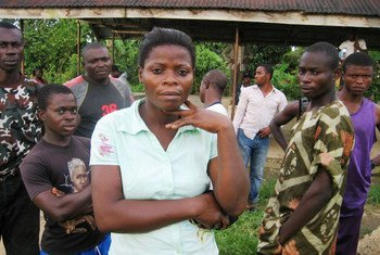Residents on the Cameroon-controlled side of the Bakassi Peninsula with Nigeria.