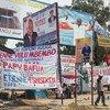 Mabango ya kampeni za uchaguzi DRC