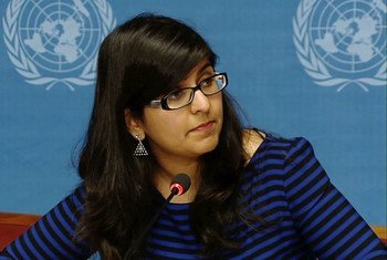 Une porte-parole du HCDH, Ravina Shamdasani.