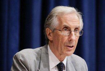 Le Représentant spécial adjoint pour Haïti, Nigel Fisher.