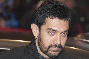 Actor and producer Aamir Khan, UNICEF Ambassador.