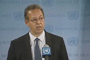 Special Adviser on Yemen Jamal Benomar briefs press