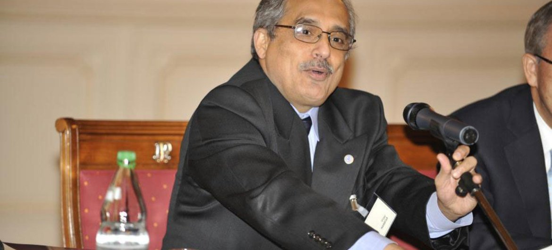 Secretary-General Ban Ki-moon's chief of staff Vijay Nambiar.