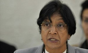 High Commissioner Navi Pillay addresses the Special Session of the Human Rights Council on the situation in Syria