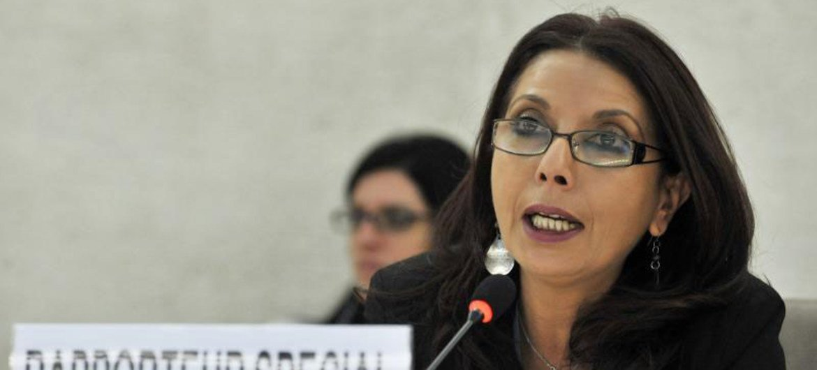 Special Rapporteur on the sale of children, child prostitution and child pornography, Najat Maalla M'jid.