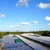 Система солнечных батарей Программы ООН по окружающей среде в Африке