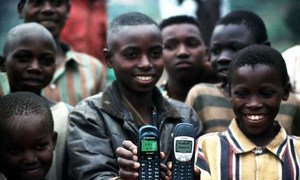 UNESCO leads the way in mobile telephone learning.
