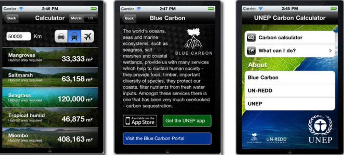 New UN iPhone application highlights role of ecosystems in tackling climate change