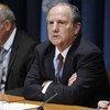 Juan Méndez (right), UN Special Rapporteur on Torture