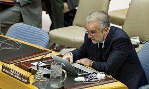 Le Procureur de la CPI, Luis Moreno-Ocampo, devant le Conseil de sécurité.