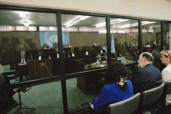 Слушания в Международном трибунале ООН по Руанде Фото из архива