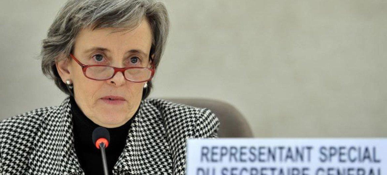 Special Representative on Violence against Children Marta Santos Pais.