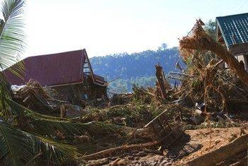 Cada año, los ciclones causan numerosas pérdidas económicas en los pequeños estados insulares en desarrollo en el Pacífico. Foto: PMA