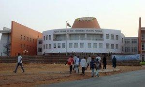 Le bâtiment de l'Assemblée nationale en Guinée-Bissau.