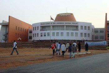 Assembleia Nacional em Bissau, na Guiné-Bissau.