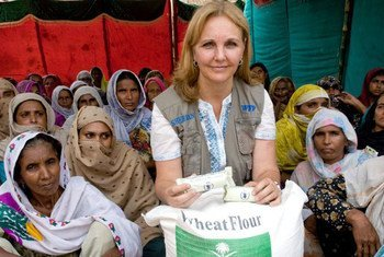 WFP Executive Director Josette Sheeran