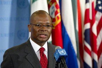 L'ambassadeur d'Afrique du Sud, Baso Sangqu.
