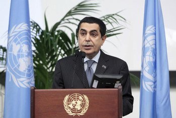 Nassir Abdulaziz Al-Nasser, President of the sixty-sixth session of the General Assembly.