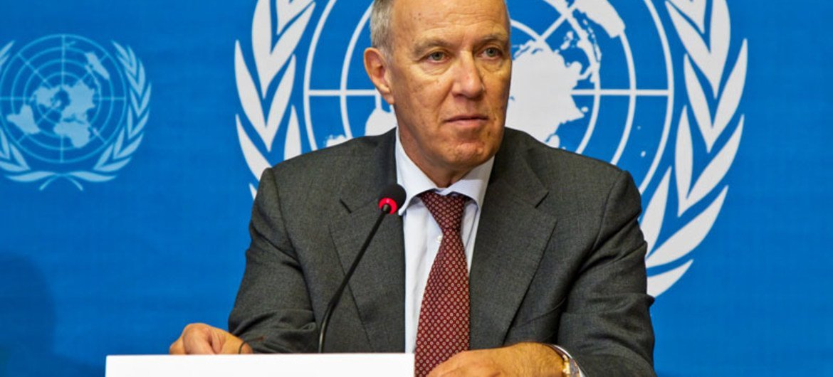 Director General of the World Intellectual Property Organization Francis Gurry.