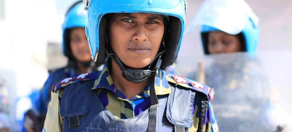 Among the many peacekeepers deployed by the UN Stabilization Mission in Haiti and assigned to protect the hundreds of thousands of internally displaced persons (IDPs) from insecurity, nearly 500 are women.