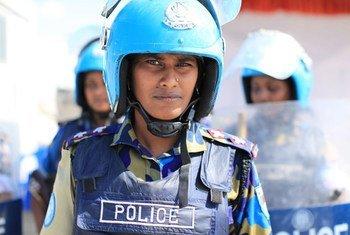 Une femme de la Mission des Nations Unies pour la stabilisation en Haïti en charge d'assurer la protection des femmes contre les violences sexuelles (archives).
