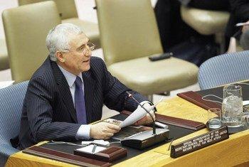 El representa especial de la ONU para los Grandes Lagos,Said Djinnit   Foto de archivo: ONU/Paulo Filgueiras