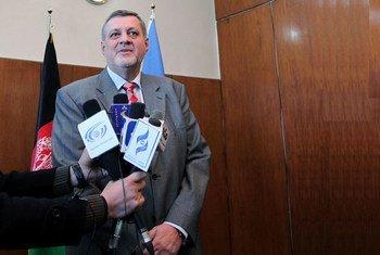Jan Kubis, le Représentant spécial du Secrétaire général de l'ONU en Afghanistan.