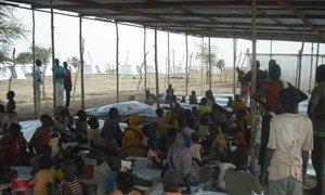 Des réfugiés soudanais sur un site de réinstallation dans l'Etat d'Unity, au Soudan du Sud. Photo : UNHCR/C.Mballa