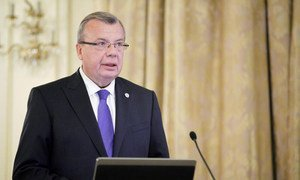 Executive Director of the UN Office on Drugs and Crime Yury Fedotov.