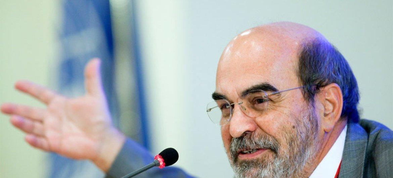 Le Directeur général de la FAO José Graziano da Silva.