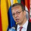 Jamal Benomar, Sous-Secrétaire général et Conseiller spécial sur le Yémen. ONU Photo/Even Schneider.