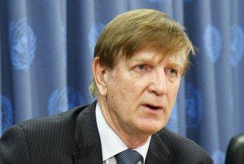 Humanitarian Coordinator for the occupied Palestinian territory Maxwell Gaylard.